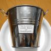 リメイク缶の底穴のあけ方。穴のまわりの金属めくれ、バリを一発でキレイにする方法。