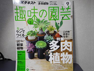 趣味の園芸9月号