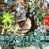 新潟市で多肉植物を買うならエデンがおすすめ!寄せ植えや多肉リースがとってもおしゃれ。